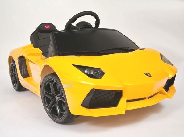 Boys Girls 2 5 Yellow Lamborghini Aventador Remote Control