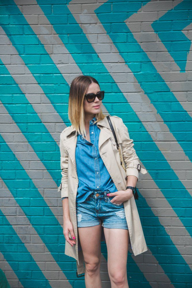 A New Take on the  Denim on Denim look for Spring • Uptown with Elly Brown