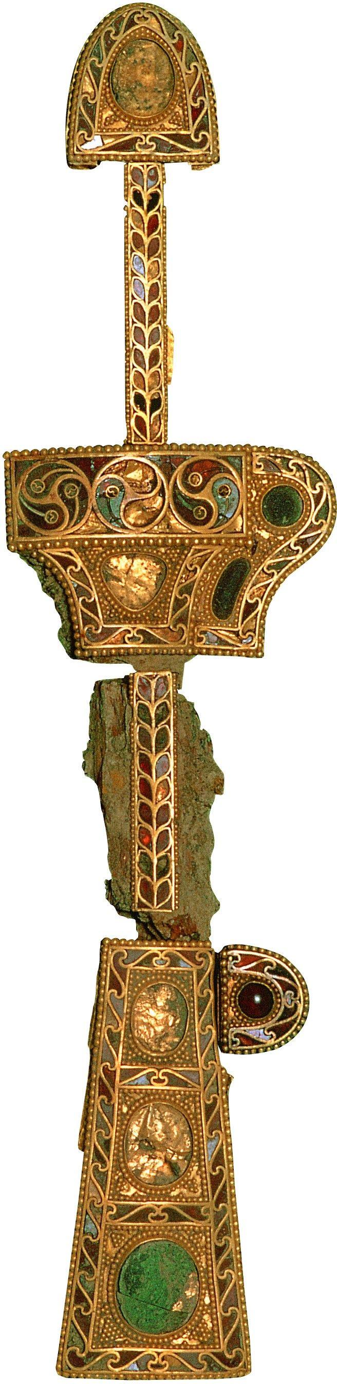 korea 4~5th Century gold sword