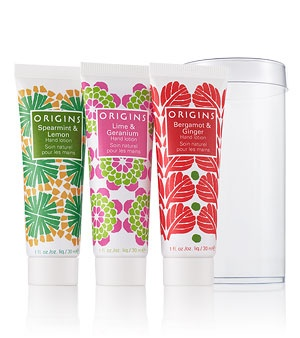 Hand Lotion Trio // ORIGINS :: love this stuff!