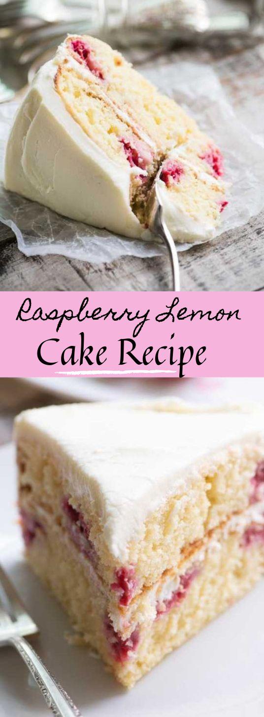 Himbeer-Zitronen-Kuchen #lemon #dessert   – Cakes and cupcakes:)