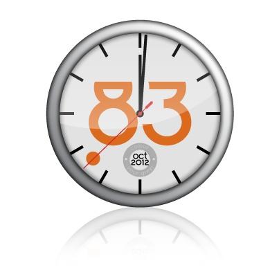 """POINTT83 added a milestone from October 2012 to their timeline: Start de tijd! - POINTT83 Visuele Communicatie"""