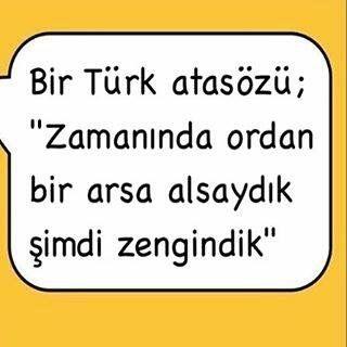 Bir Türk atasözü