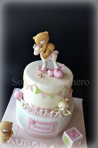 forever friends cake~                      by Sogni di Zucchero, via Flickr…