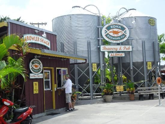 Big Island - Kona Brewing Company - just a few miles from our resort.