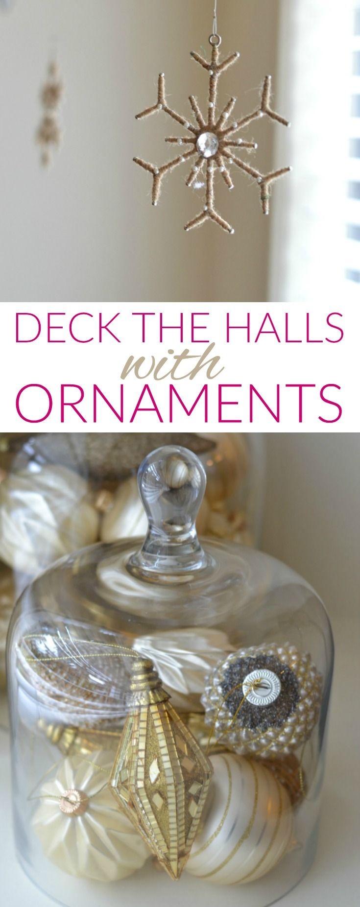 Deck the halls how to decorate on a budget family dollar - Easy Christmas Decorating Ideas Using Ornaments