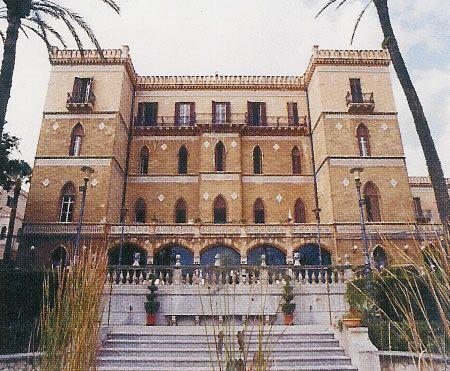Villa Igiea, Palermo, Sicily, designed by Ernesto Basile.