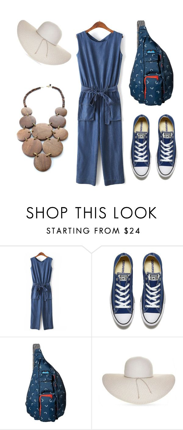 """Yay beach!"" by ferranong on Polyvore featuring Converse, Kavu, Nine West and Mata Traders"