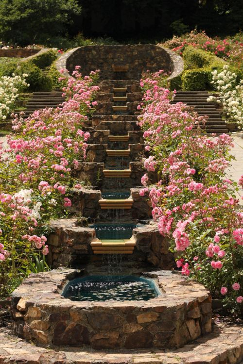 252 best ponds waterfalls fountains images on pinterest for Backyard pond fountains