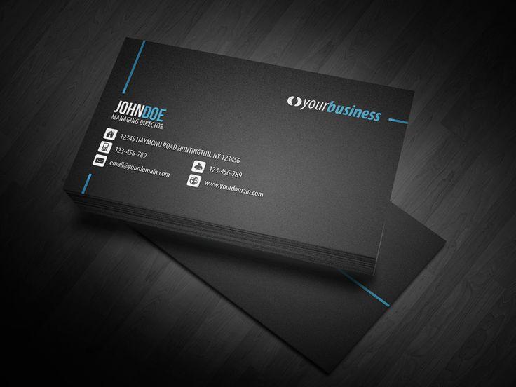 Line Corporate Business Card by glenngoh on DeviantArt