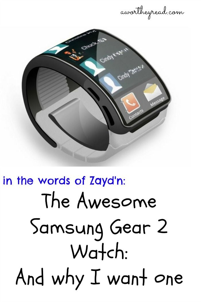 The Awesome Samsung Gear 2 Watch.