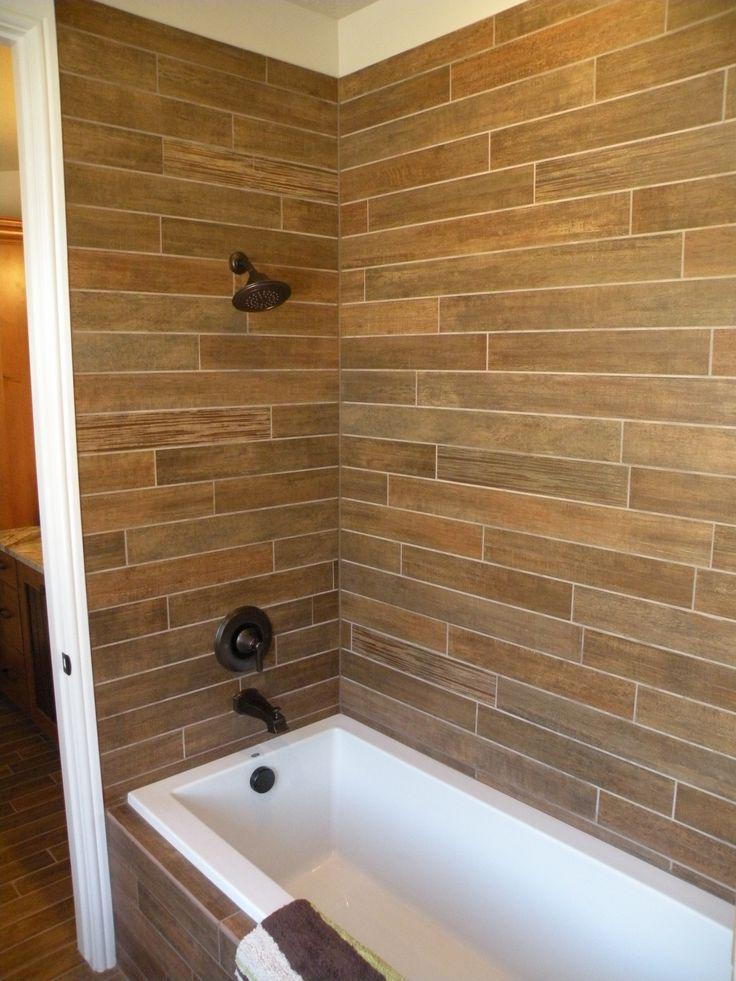 21 best wood tile shower images on Pinterest | Wood tile ...