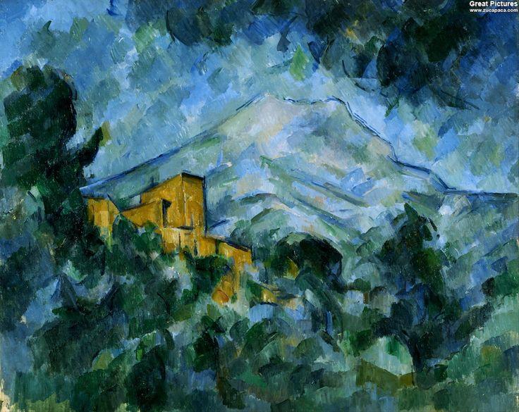 Paul Cezanne - Mont Sainte-Victoire and Château Noir, 1904-1906