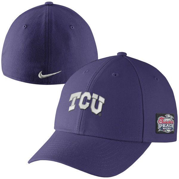 TCU Horned Frogs Nike 2014 Peach Bowl Bound Swoosh Flex Hat – Purple - $13.99