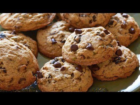 Receta de Galletas Con Chispas de Chocolate Caseras Faciles y Rapidas - YouTube