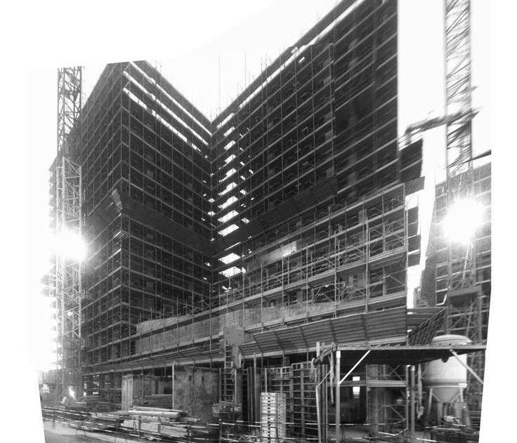 UP! + Teknoarch - Villaggio Expo 2015, Expo village, Milano - Social Housing - Under Construction
