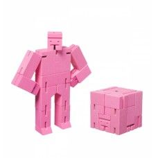 Muñeco Cubebot Rosado