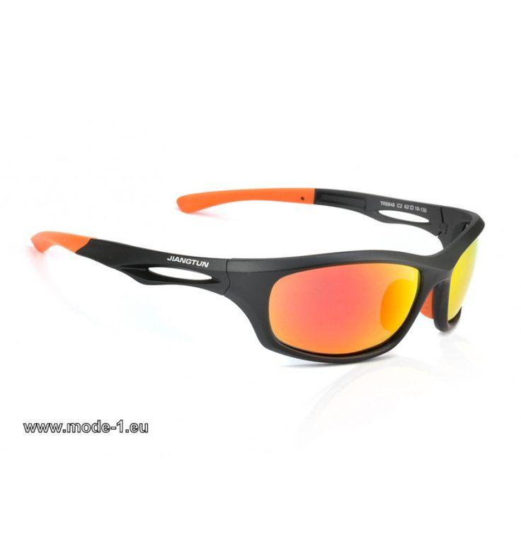 Trendige Mode Sonnenbrille Outdoor Sport , Orange / Weiß