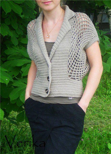 Crochet Cardigan - Chart