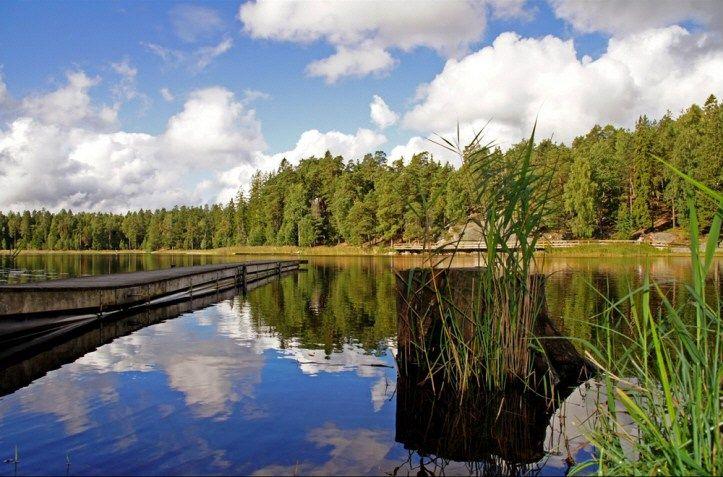 Lake in Haninge