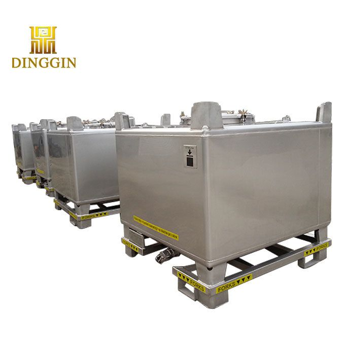 Hot Item 1000 Liter Stainless Steel Ibc Tote Tank For Sale In 2020 Factory Design Stainless Steel Hot Items