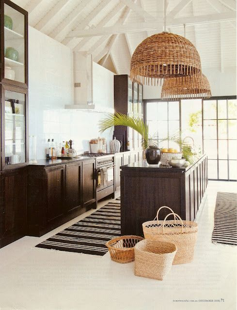 Tropical Kitchen Design: 17 Best Images About Tropical Kitchens On Pinterest