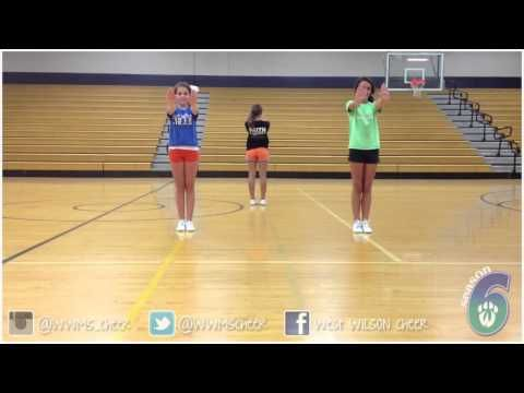▶ Youth Cheer Dance Tutorial - YouTube