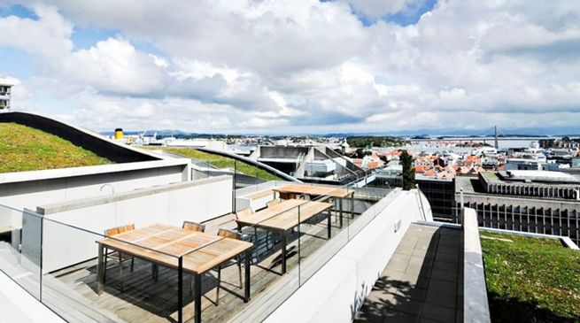 #rooftop #terrace #stavanger - Comfort Hotel Square | Nordic Choice