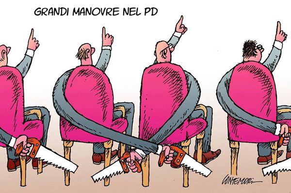 #PartitoDemocratico: fratelli coltelli... #PD