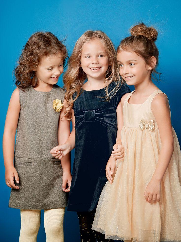 Robe fille sans manches mordore irise - Coup de coeur pour cette jolie robe fantaisie avec sa matière irisée !   Collection Automne-Hiver 2016 - www.vertbaudet.fr
