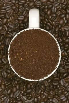 Coffee grounds add a nutrient boost to plant soil and compost piles