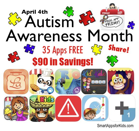 Autism Awareness Month FREE APP FRIDAY 4th April Sponsored by Monki Animal Builder http://www.smartappsforkids.com/2014/04/autism-awareness-month-free-app-friday-4th-april-.html