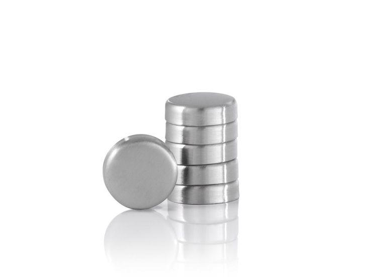 Zestaw magnesów do tablicy lub lodówki x6 Blomus Muro 20mm