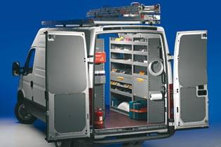 Modello di Officina Mobile Store Van per Iveco Daily