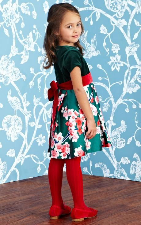 Oscar de la Renta Childrenswear Fall/Winter 2014 Trunkshow Look 7 on Moda Operandi