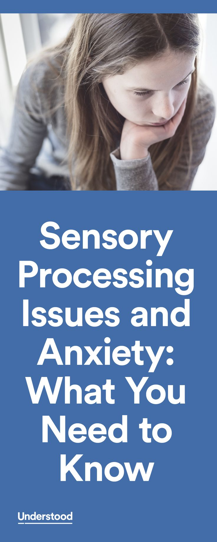 Bright lights, loud noises, unfamiliar surroundings and situations. All of these can create stress—and sensory overload—for kids with sensory processing issues. It can also create anxiety over situations that lie ahead.
