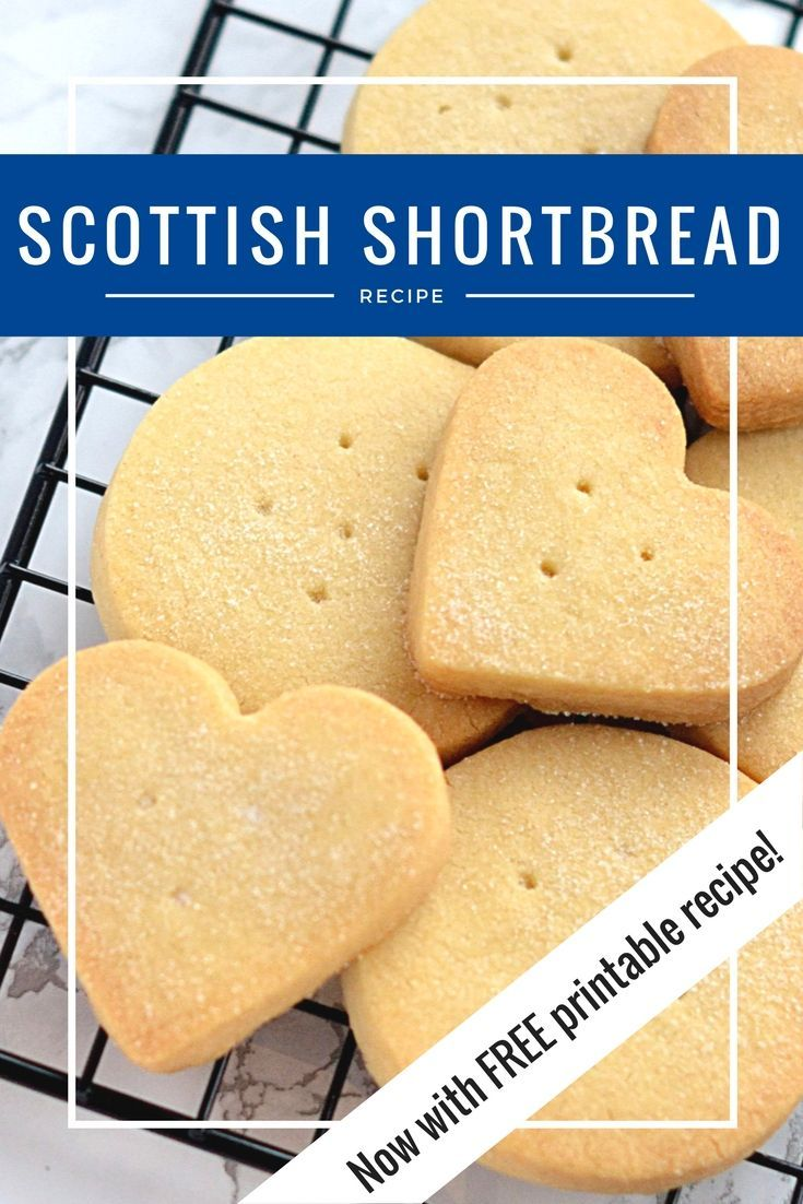Shortbread. Buttery, crumbly little Scottish biscuits. Easy to make and sure to impress.