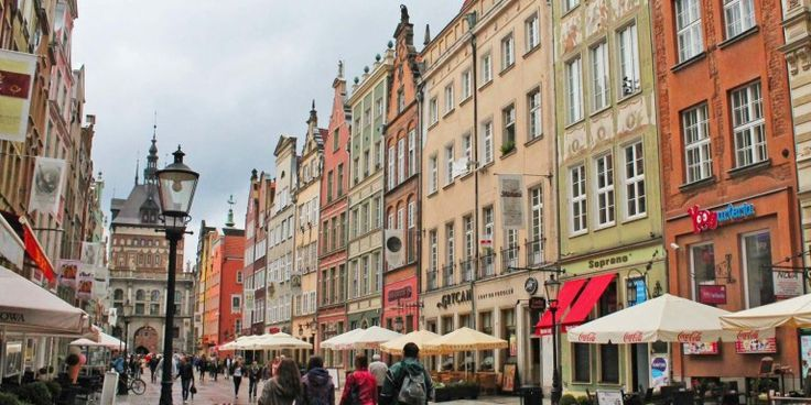 Gdansk, Poland -  This pretty much empty city in Poland brings the treats, from the colourful architecture to the dirt cheap eats. You even have a beach resort (yep, Poland has one!) down the road in Sopot if you fancy some freezing cold sunbathing this winter.
