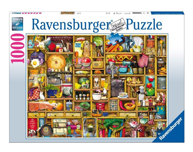 Amazon.com: Kitchen Cupboard Jigsaw Puzzle, 1000-Piece: Toys & Games