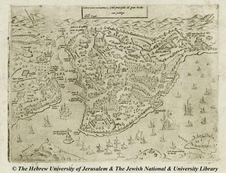 04-G.F.-Camocio-Costantinopoli-Isole-famose-porti-fortezze-e-terre-maritime-1572.jpg (2500×1918)