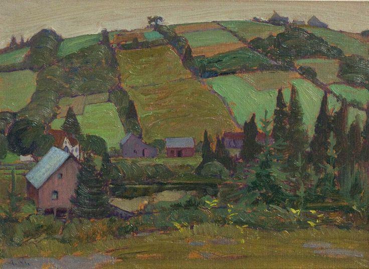 Petite Riviere, Nova Scotia by James Edward Hervey MacDonald at Mayberry Fine Art