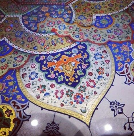 Islamic art illumination