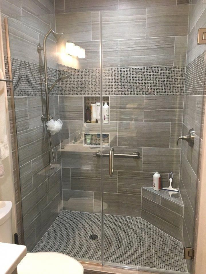 Choosing a new shower stall small bathroom makeover