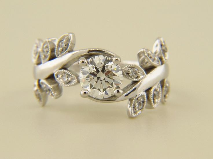 Pinterest Unique Engagement Rings