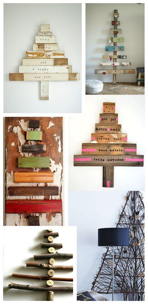 sapin e noel maison en bois