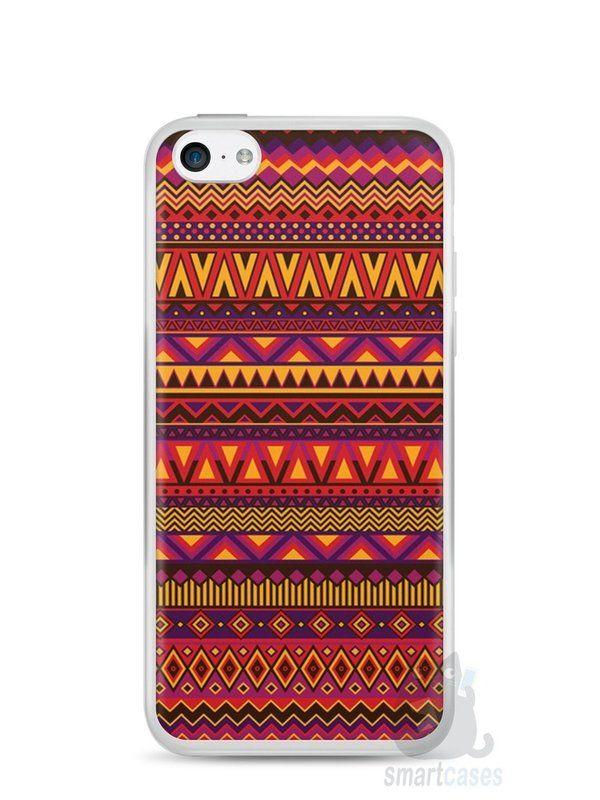 Capa Iphone 5C Étnica #7 - SmartCases - Acessórios para celulares e tablets :)