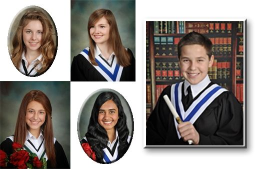 Junior High, Middle School - whatever you call it we take Grade 8 grad portraits just as seriously as Grade 12! We also ensure the tradional props (ie. rose bouquet, diploma's, gowns, ties and dress shirts) are all provided for the students session.  Premium retouching services are also available.  At this sensitive age retouching can mean so much!