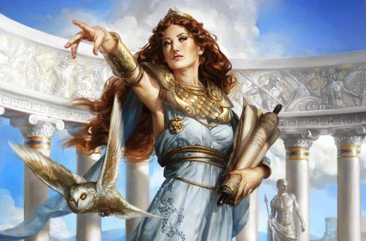 Ritual para Auxiliar nos Estudos com Athena