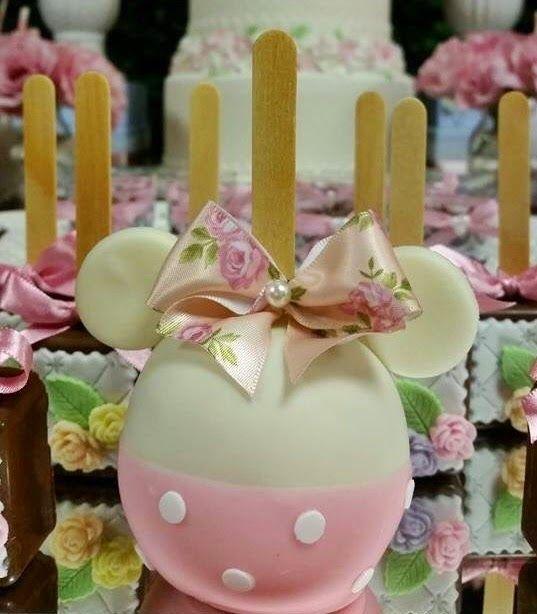 Atelier Tati Sabino - Festas Personalizadas : Festa Minnie Shabby Chic - Laura 3…