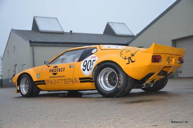 De Tomaso Mangusta >> 1972 De Tomaso Pantera - Group 4 FIA race car | Classic ...